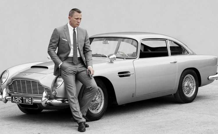 James Bond as Daniel Craig