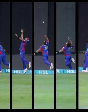 Shahid Afridi's brilliant catch
