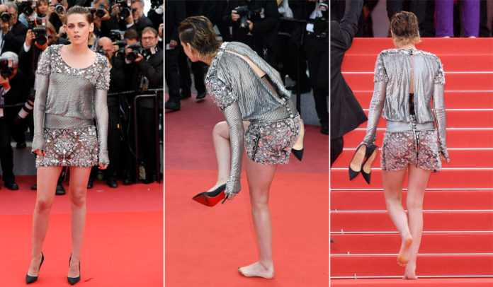 Kristen Stewart rebels against Cannes' 'heels-only' policy