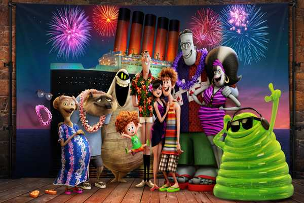 At the box office, 'Skyscraper' falls to 'Hotel Transylvania 3'