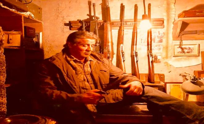Sylvester Stallone reveals 'Rambo V' heartstopper knife