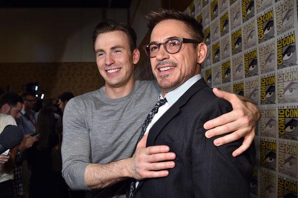 Robert-Downey-Jr-and-Chris-Evans