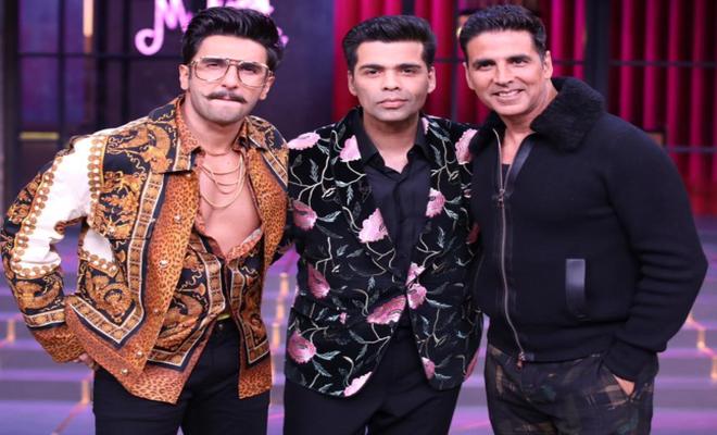 Koffee With Karan Season 6 - Akshay Kumar & Ranveer Singh - OyeYeah