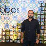 Faraz Manan at the launch of ABBAS CARPETS & HOME