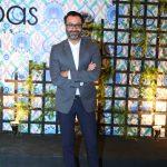 Kamiar Rokni at the launch of ABBAS CARPETS & HOME