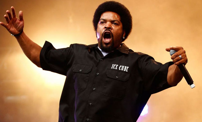Ice Cube Unleashed Anti-Trump Anthem