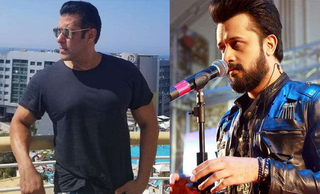 Image result for Salman Khan Replaced Atif Aslam Song From His Upcoming Film Notebook
