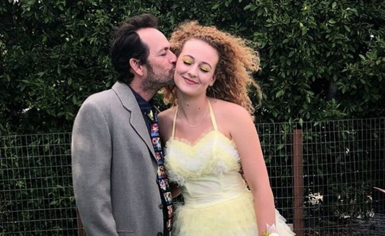 Luke Perry's Daughter Breaks Her Silence After His Death