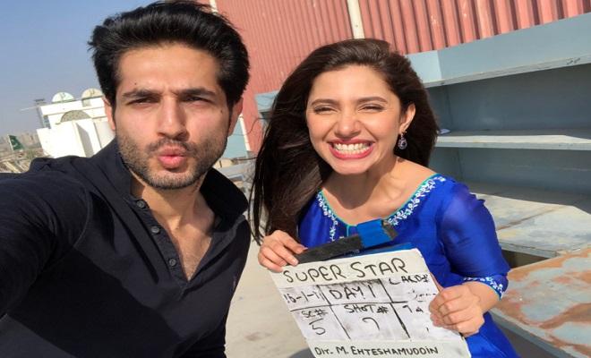 Nouveaux produits a2a7f d6278 Mahira Khan and Bilal Ashraf begin shooting for Superstar ...