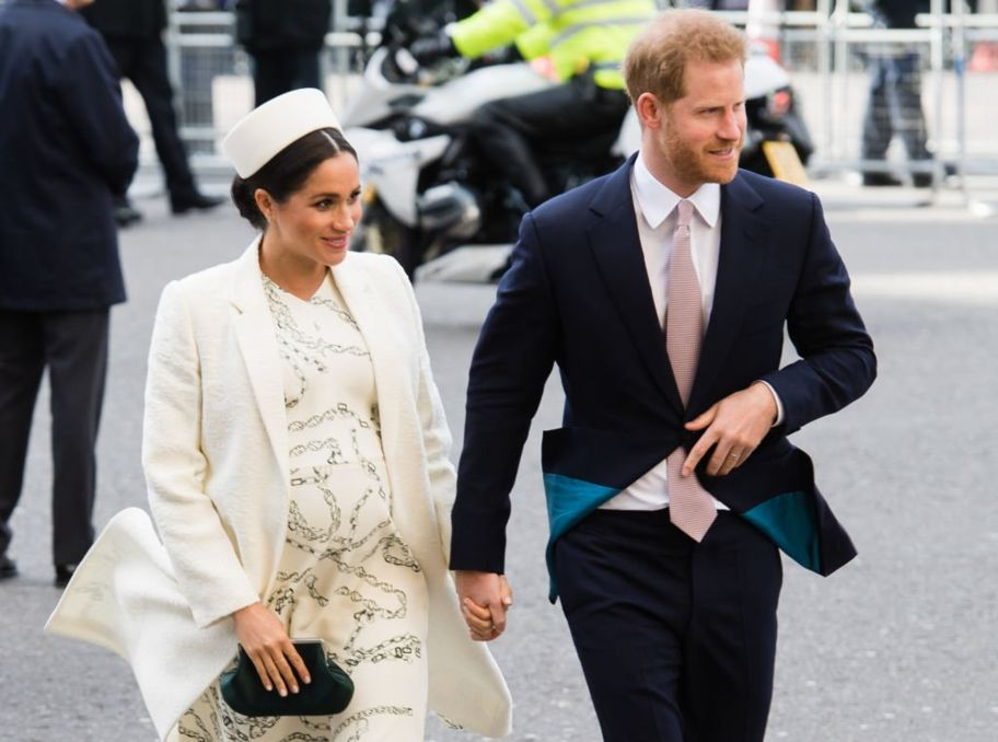 The Duke And Duchess Of Sussex Welcome Their First Guest To Frogmore Cottage