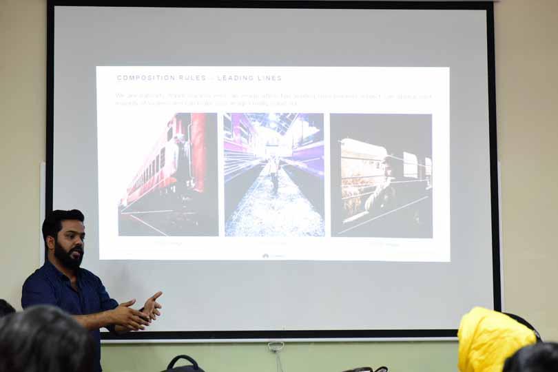 Amjad Nawaz explains Leading Lines concept