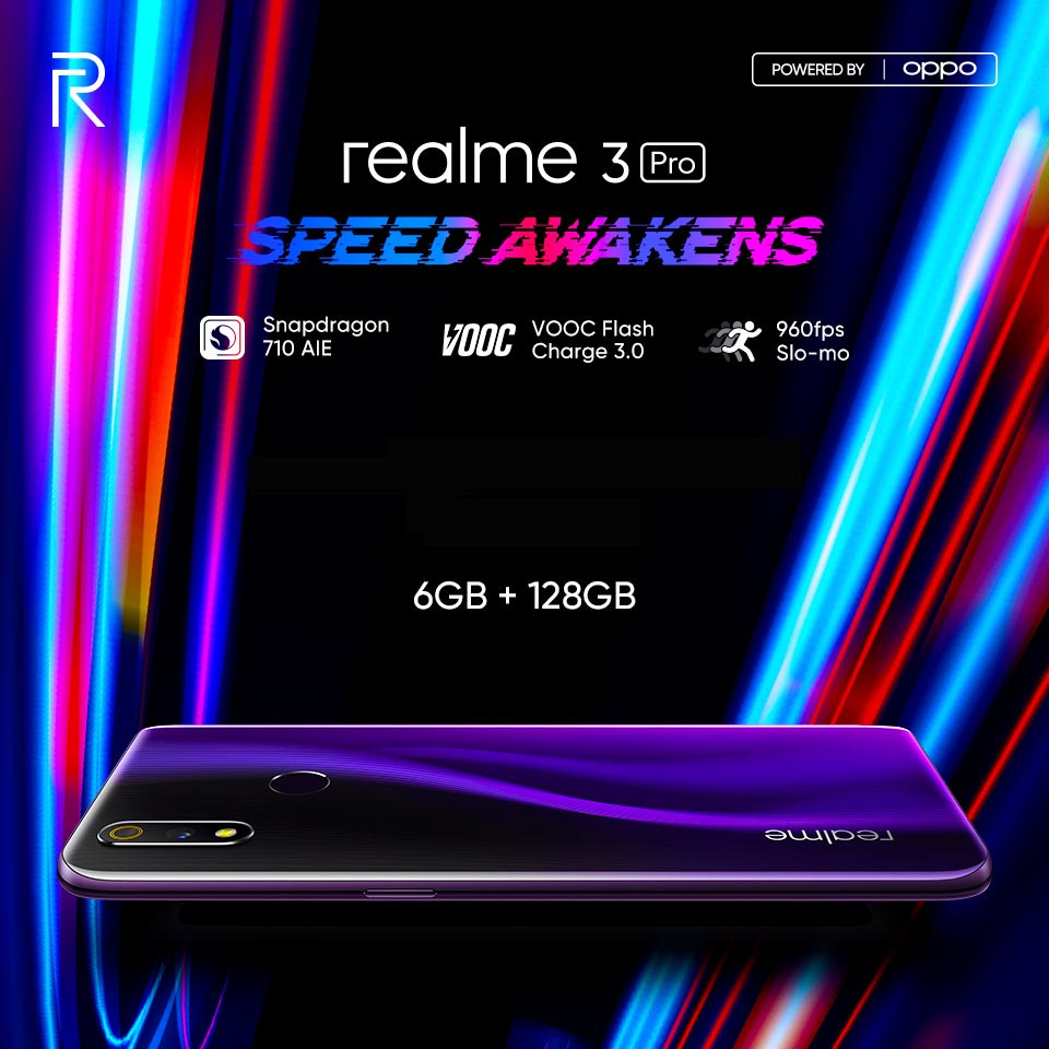 Realme announces flagship series realme 3 pro launch in