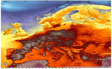 Europe-Heatwave