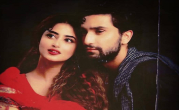 Sajal Aly, Ahad Raza Mir come together for Dhoop Ki Deewar
