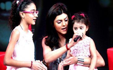 Shushmita daughters