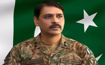 Major General Asif Ghafoor's remarks