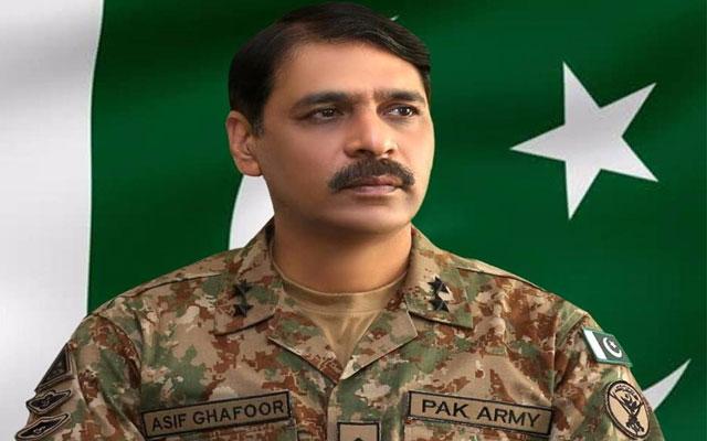 Major General Asif Ghafoor's remarks