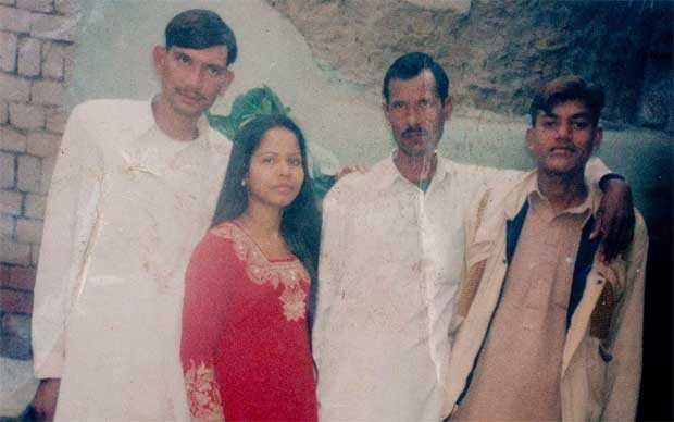 Asia Bibi with relatives