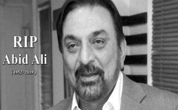RIP Abid Ali