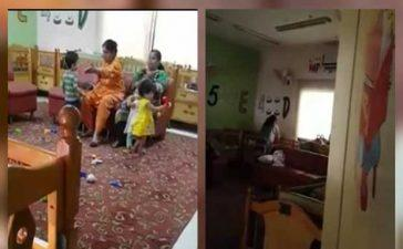 viral video daycare centre