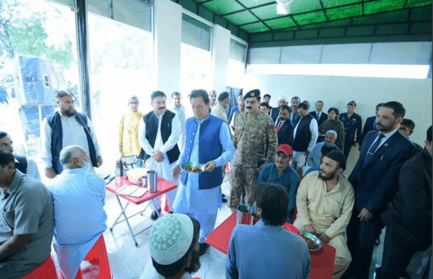 PM Imran Khan Launches 'Ehsaas Saylani Langar Scheme'