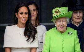 Queen Elizabeth is 'impressed' with Meghan Markle's recent Africa trip