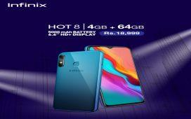 The Most anticipated Infinix Hot 8 4+64GB Variant launched in Pakistan