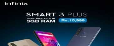 Infinix Launches Smart 3 Plus 3+32GB Variant in Pakistan
