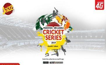 Jazz TV Streaming Pak-Sri Lanka Series for cricket Fanatics