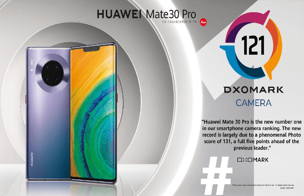 HUAWEI Mate 30 Pro Takes Crown as New King of Smartphone