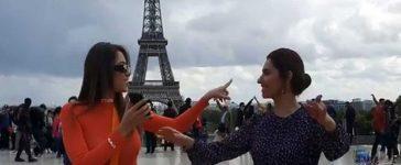 Mahira Khan and Lebanese Actress Daniella RahmeDance