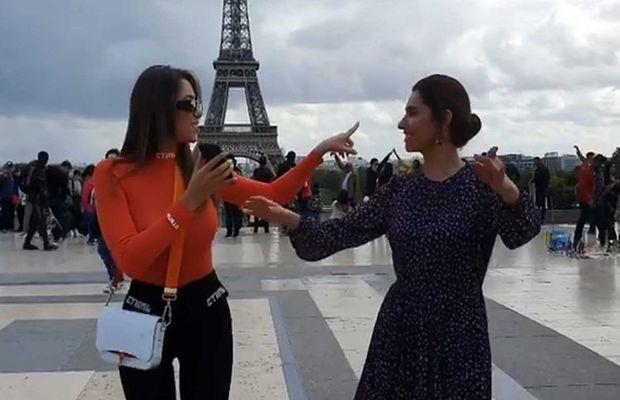 Mahira Khan and Lebanese Actress Daniella Rahme Dance