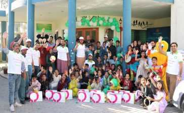 ZONG 4G's New Hope Volunteers spend day at SOS Children's Village in Quetta