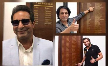 Pakistan Cricket greats cherish old memories