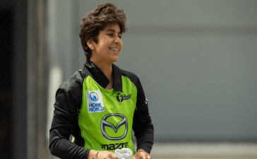 Nida Dar makes Women's Big Bash League Debut