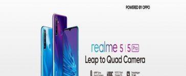 Realme 5, 5 Pro Pakistan Launch on Oct 2