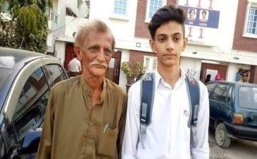 Son of Newspaper Hawker Secures First Position in Intermediate
