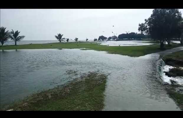 Cyclone Kyarr - Wrath of cyclone affects Karachi's coastal areas