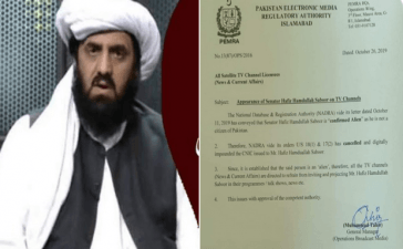 JUI-F's Hafiz Hamdullah revocation of citizenship