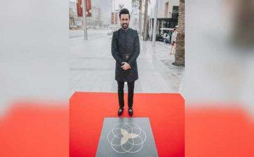 Atif Aslam gets his own star on Dubai's Walk of Fame