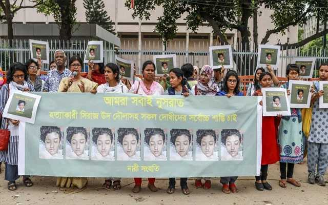 16 people sentenced to death in Bangladesh for burning teen alive