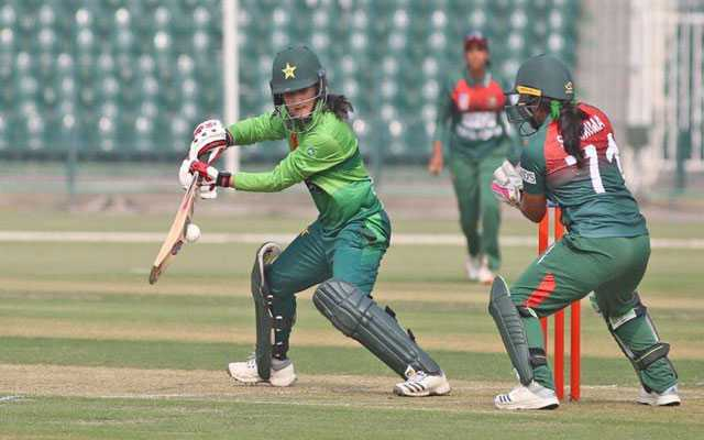 Bismah Maroof, first Pakistani cricketer to score 2000 runs in women's T20I