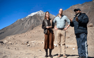 Prince William Urges Pakistan to Raise Awareness on Climate Change
