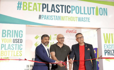 Coca-Cola and WWF-Pakistan introduce their first ever plastic recovery initiative in Lahore