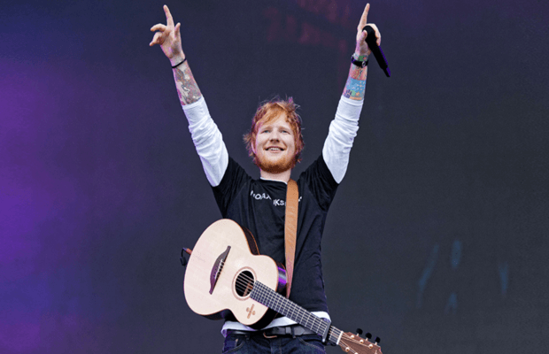 Ed Sheeran is UK's Richest under-30 celeb with £170 million fortune