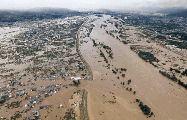 At least 35 dead, 18 people missing in Japan as Typhoon Hagibis leaves