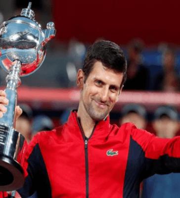 Novak Djokovic wins Japan Open 2019