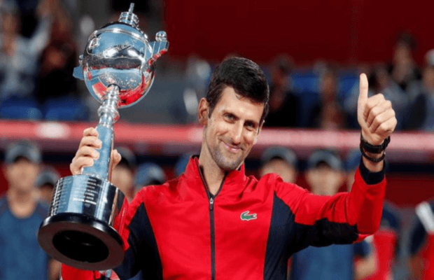 Novak Djokovic wins Japan Open 2019