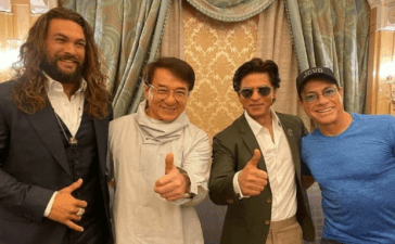 Jackie Chan, Jason Momoa, Van Damme, Shah Rukh Khan attend Joy Forum 19 in Riyadh, Saudi Arabia