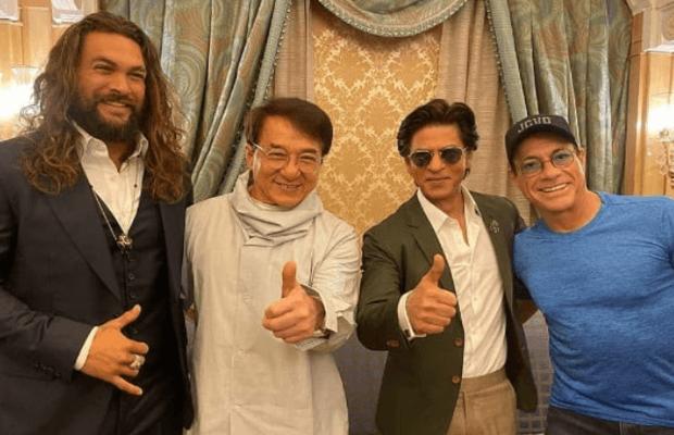 Jackie Chan, Jason Momoa, Van Damme, Shah Rukh Khan attend Joy Forum 19 in Riyadh, Saudi Arabia
